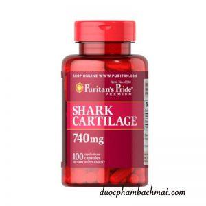 Viên-uống-sụn-cá-mập-Shark-Cartilage-Puritan's-Pride-740mg