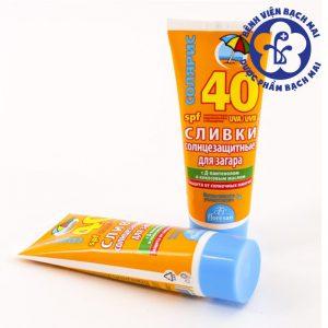 Kem chống nắng vàng của Nga SPF 40