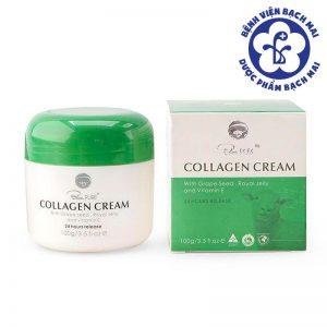 kem-duong-da-collagen-cream-blue-pure-cua-uc