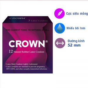 Bao cao su Crown Thái Lan