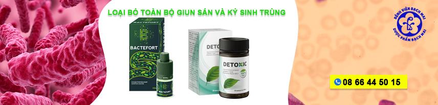 diet giun san va ky sinh trung